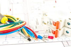 electrical-wiring-white-background